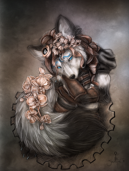 Copper Rose by Swagtail