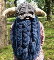 Skyrim inspired with blue beard by Drgibbs
