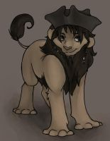Jack Sparrow Lion by WillowWhiskers
