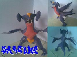 Garcomp papercraft by aerizu