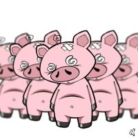march of the pigs.... by DepartmentM