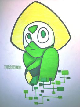 The loveable Peridot! by tursskuien