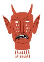 Devil Head by Teagle