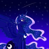 Princess Luna Constellation by ohu1015