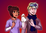 UtS: Human AU by ColacatintheHat