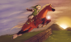 Epona's Song by danielleclaire