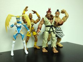 Action Figure Fun! by StateOfTheArt-toys
