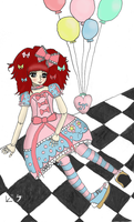 Sweet Lolita Doll by p1x3lFlame