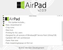 AirPad 2.0.9 Download by WinSkinOfficial