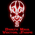 Darth Maul Vector Shape by Retoucher07030