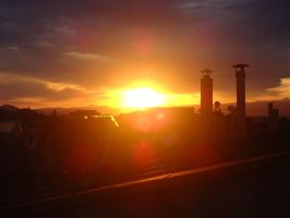 Sunset in Florence by DemDem95