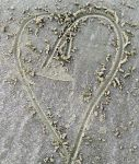 Heartline in the Sand by Jewel-Firefly