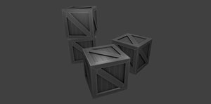 Grey Crates by figro670