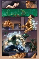 Fire Serpent  Issue 2 page 14 by VicenteT