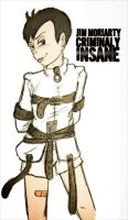 Asylum!Jim AU by Arkham-Insanity