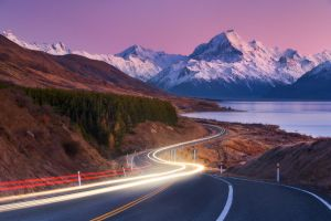 Winding to Aoraki by Dee-T