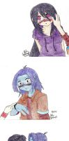 Be Yourself... colored by La-Mishi-Mish