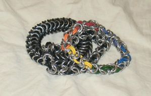 bracelets to be shipped by DracoLoricatus