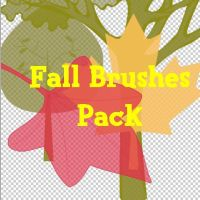 Fall Brushes Pack by BrunoEdits
