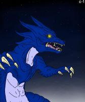 Kaiju: Original Blue. by Cyprus-1