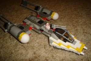 Custom BTL A-4 Y-Wing by Taggerung1