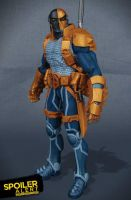DC collectibles New 52 Deathstroke unleashed! by BLACKPLAGUE1348