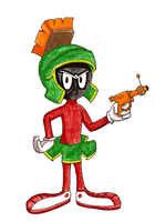 Marvin The Martian by Lavender-Star