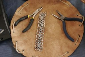 chainmail making of 12 by djorll