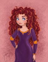 Princess Merida by enigmawing
