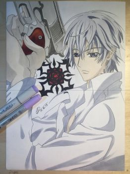 Vampire Knight Drawing: Zero by mere-anime07
