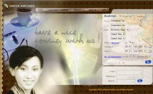 web template airlines by ruthnella