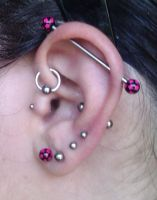 Earpiercing Update by Letizi