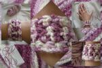 crochet bracelet by Marianellie