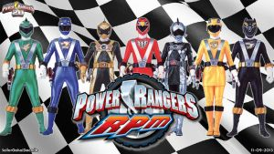 Power Rangers Racing Performance Machines WP by jm511