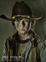 The Walking Dead: Carl: HDR Re-Edit (Ver. 2) by nerdboy69
