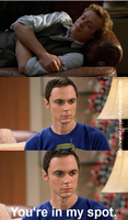 Meme: Dr. Sheldon Cooper vs. Patrick Jane by Xenocontendi