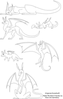 Dragon Lineart-THE COLLECTION by Xbox-DS-Gameboy