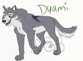 Dyami full body by melted-gummy-bears