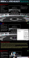 MMD Nimda's Synthesizer stage instructions by Trackdancer