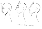 Different Face Profiles by koimonster22