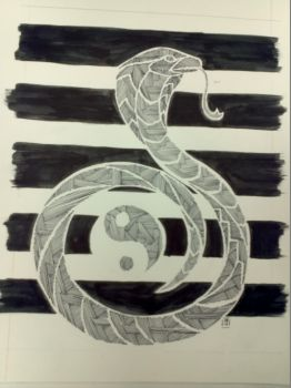 TRADITIONAL : Cobra : Line Style by Mgyk