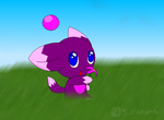 Violet chao by sillohettehedgehog2
