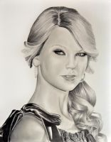 Taylor Swift drawing by Rollingboxes