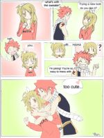 NaLu : Like my sweater? by Maychan16