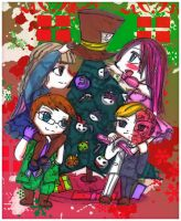 Deck the halls by Danielle-chan