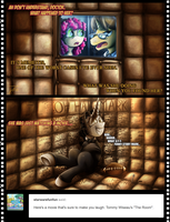 Ask Movie Slate - The Room by jamescorck