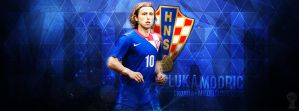 Luka Modric Cover by HkM-GraphicStudio