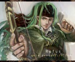 Rufus the Einherjar by qkie