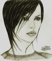 Charlize Theron as Aeon Flux by khrysta