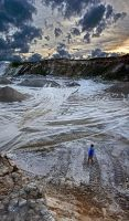 gravel-pit by Lunox-baik